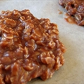 No-Bake Peanut Butter/Chocolate Cookies