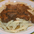 North Croatian deer goulash