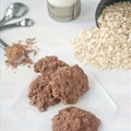 Nutella no-bake fudge cookies