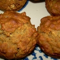 Oatmeal Banana Muffins