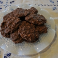 Oatmeal Fudge No Bake Cookies (no butter)