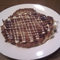 Okonomiyaki Japanese pancake