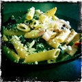 Olive and Feta Pasta w/ Sundried Tomatoes and Spinach