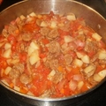 One Skillet- Italian Sausage And Harvest Vegetable Stew