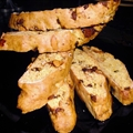 Orange Cashew and Chocolate Chip Biscotti