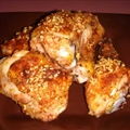 Oven Baked, Lemon / Garlic Chicken