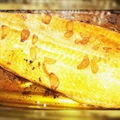 Oven Roasted Whole Salmon in Beer & Olive Oil