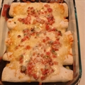 Over-the-Border Shrimp Enchiladas