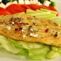 Pan Fried Basa with Mediterranean Compound Butter
