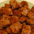 Pan-fried Round Steak Nuggets