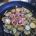 Pan Grilled Shrimp and Veggies