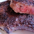 Pan-Seared Rib Eye Steak
