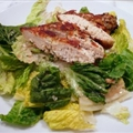 Parmesan Chicken Caesar Salad ala Steve