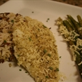 Parmesan Herb Panko Crusted Flounder