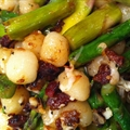 Pasta: Gnocchi with Asparagus and Pancetta
