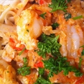 Pasta- Linguine w Spicy Shrimp