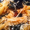 Pasta- Kale, Bacon, and Sun-Dried Tomatoes