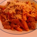 Pasta with Italian Sausage Marinara