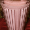 Peach Melba Smoothie (Low Carb)