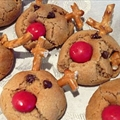 Peanut Butter Reindeer Cookies