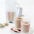 Pear, Oat, Cinnamon, and Ginger Shakes