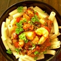 Penne with Tomato-Shrimp Sauce