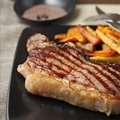Perfect Sirloin Steak with Tasmanian Pepper Sauce