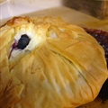 Phyllo Blueberry Purse