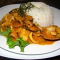 Picante De Mariscos (Peruvian Spicy Stir-Fry)