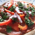 Pita Pizza (Vegan)