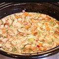 Pizza Chicken in the Slow Cooker