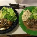 Pork and Portabella Mushroom Sauce