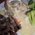 Pork Chops in Creamy Dijon Mushroom Sauce