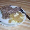 Pork Neck Bones and Sauerkraut