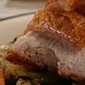Pot Roasted Pork Shoulder with Apple