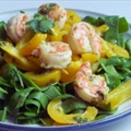 Prawns with Cilantro-Ginger-Lime Butter