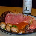 Prime Rib Roast with Madeira Wine Sauce
