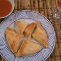 Puff Pastry Crab Rangoon