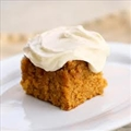 Pumpkin Cake Bars