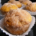 Pumpkin Doughnut Muffins