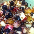 Quick Quinoa And Fruit Breakfast