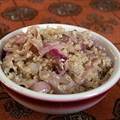 Quinoa with Carmelized Onions