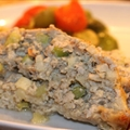 Rachel Ray's Turkey and Stuffing Meatloaf