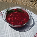 Raw Russian Borscht