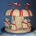 Rice Krispies Treats Carousel