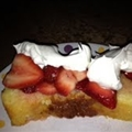 Ricotta Orange Pound Cake with Strawberries