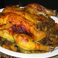 Roast Chicken with Dried Fruit