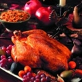 Roast Chicken with Spiced Mushroom and Winter Vegetable Stuffing