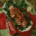 Roast Pork Tenderloin with Cherry-Cranberry Glaze