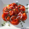 Roasted Bell Peppers with Tomatoes